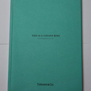Tiffany & Co Blue Book This is a Tiffany Ring
